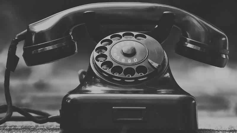 Telefoontoestel met hoorn