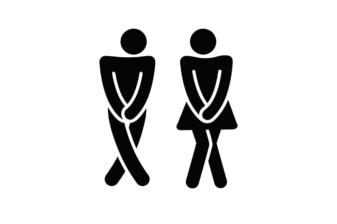 Man en Vrouw toiletbehoefte -Dementie vriendelijk toilet